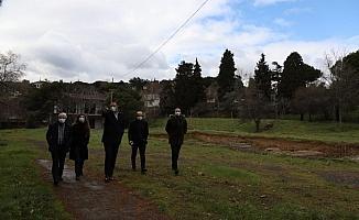 İBB'den Dragos arkeolojik kazı alanına ziyaret