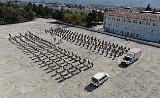 Karabük'te 606 Mehmetçik'ten Türk Kızılay'ına kan bağışı