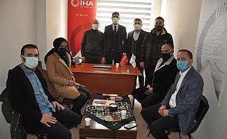 Kars AK Parti'den İHA'ya ziyaret