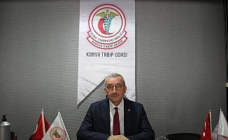 """Konya Tabip Odası Başkanı Çetin: """"Şehrimize giriş ve çıkışların HES koduyla yapılmasını istiyoruz"""""""