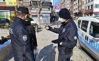 Merzifon'da 253 bin 800 lira ceza kesildi