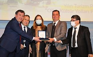 """""""Olba Kültür Yolları"""", yılın en başarılı turizm projesi seçildi"""