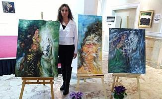 """Ressam Çakar: """"Sanat, insanın ruhunu nakışlayan güzellikler bütünüdür"""""""
