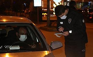 Taşova'da korona virüs denetimi