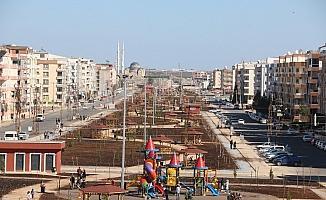 Viranşehir'deki kent parkı yapımında sona gelindi