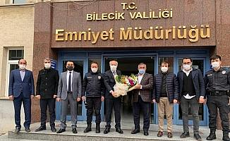 AK Parti'den polis teşkilatına ziyaret
