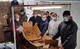 Alaçam'da tütün alımı başladı