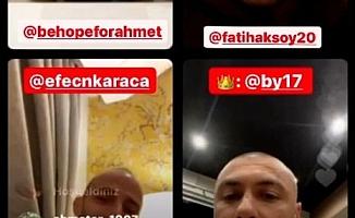 Alanyasporlu futbolcular Ahmet bebek için seferber oldu