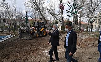 Atatürk Parkı yenileniyor