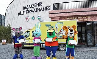 Başakgiller'in maceraları Braille alfabesiyle Anadolu'da