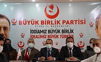 BBP'de Sivas merkez ilçe kongresi 21 Nisan'da yapılacak