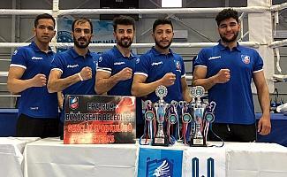 Büyükşehir'in Kıck Boks Takımı Antalya'da destan yazdı