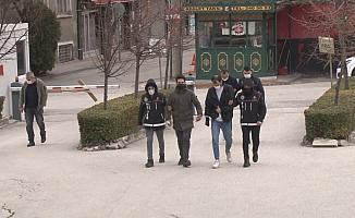 Eskişehir'de uyuşturucu şüphelileri tutuklandı