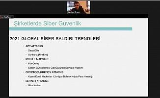 GAGİAD dikkat edilmesi gereken siber güvenlik önlemlerini konuştu