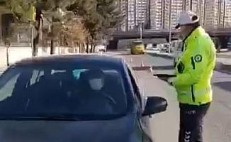 Gaziantep'te 55 araç trafikten men edildi