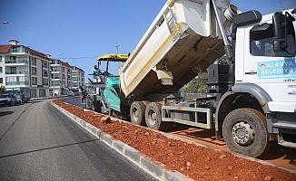 Hayri Doğan Caddesi'nde asfalt çalışması başladı