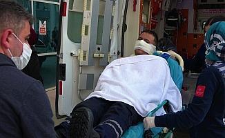 Hidrolik yağ kazanı patladı: 3 yaralı