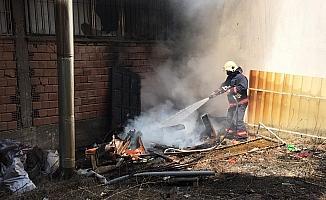 İtfaiyeden yangına zamanında müdahale
