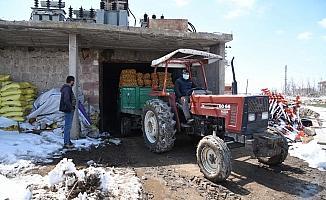 Kayseri'deki patatesler 81 ile gönderiliyor