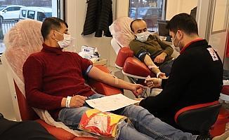 Kızılcabölükspor'dan kan bağışına formalı destek