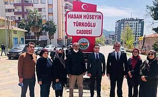 Milletvekili Türkoğlu'nun ismi caddeye verildi