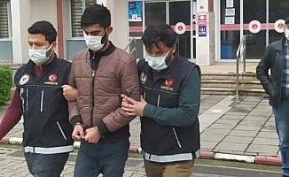 Polisin yakaladığı uyuşturucu satıcısı tutuklandı