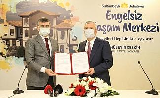 Sultanbeyli'de Engelsiz Yaşam Merkezi için imzalar atıldı