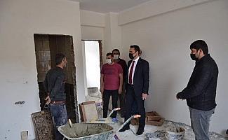 Tercan'da İlçe Özel İdaresinin yeni hizmet binası inşaatı hızla devam ediyor