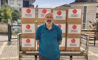 Türkdoğan ve ekibi ihtiyaç sahipleri için gece gündüz çalışıyor