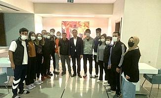 AK Parti'li Ceylan'dan Paralimpik Tekvando Milli Takım kampına ziyaret