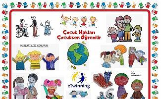 Anaokulu öğrencilerine 'çocuk hakları' eğitimi