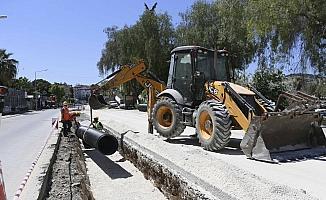 Aydın Büyükşehir Belediyesi Atatürk Bulvarı'nı yeniliyor