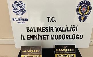 Balıkesir'de polisten 17 şahsa uyuşturucudan gözaltı