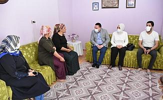 Başkan Beyoğlu, Lice depremi mağdurlarını unutmadı