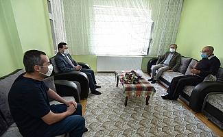 Başkan Kılca'dan şehit ailesiyle bayramlaştı