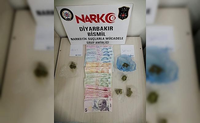 Bismil'de uyuşturucu satıcılarına yönelik operasyon