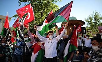 Bursa'dan İsrail'e tepki