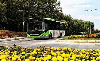 Büyükşehir toplu taşıma hizmetini sürdürüyor