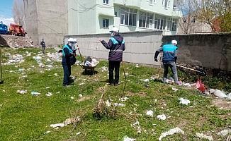 Çaldıran Belediyesinden temizlik seferberliği