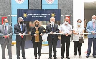 Cezaevi kütüphaneleri için düzenlenen eş zamanlı bağış kampanyasına Antalya'da start verildi