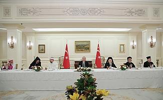 Cumhurbaşkanı Erdoğan, azınlık cemaat liderleri ile iftarda bir araya geldi