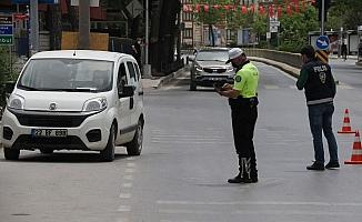 Edirne'de 17 günlük tam kapanma kısıtlanmasında sessizlik hakim