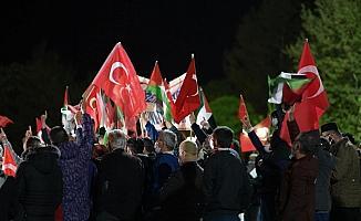 İsrail'in Mescid-i Aksa saldırıları protesto edildi