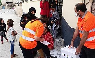 Kuveytli Hayırseverlerden 700 Gıda Kolisi
