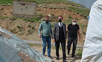 Müdür Abdullahoğlu'ndan şehit ailelerine ziyaret