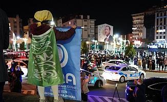 Rize'de vatandaşlar İsrail zulmünü kınadı
