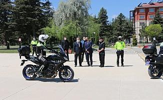 Şahin Timleri'nde görevli 14 polise sertifika verildi