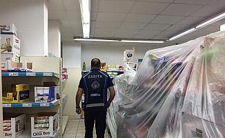 Serdivan'da marketler denetlenmeye devam ediyor