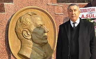 Ünsal'dan Haydar Aliyev'in 98. doğum günü mesajı