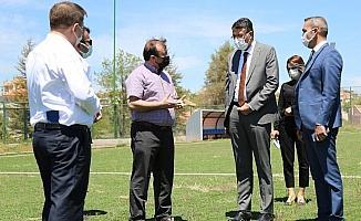 Vali Ali Çelik Emet'te devam eden yatırımları inceledi